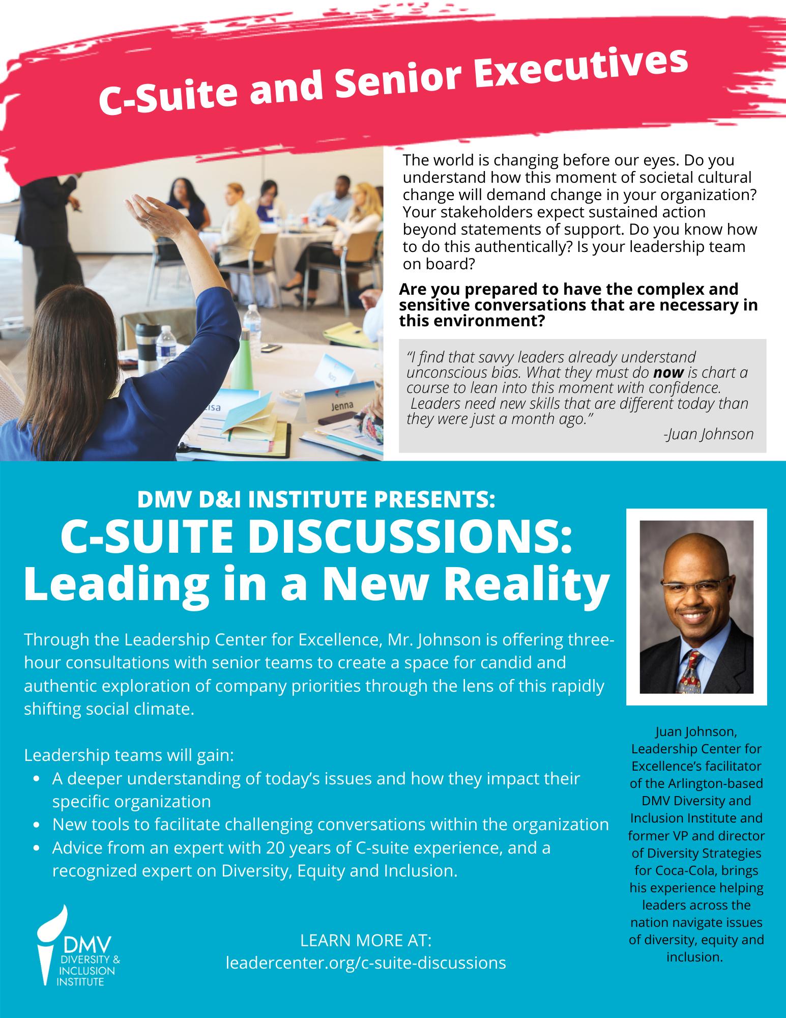 C-Suite and Senior Executives